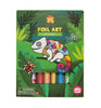 Foil Art - 2 themes - Tiger Tribe - Tiny Paper Co. Afterpay Toy Store Australia
