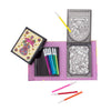 Stained Glass Set - 2 themes - Tiger Tribe - Tiny Paper Co. Afterpay Toy Store Australia