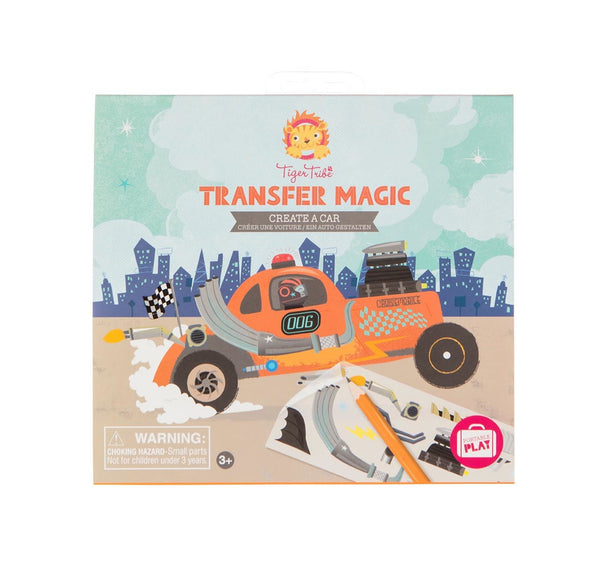 Transfer Magic - 2 themes - Tiger Tribe - Tiny Paper Co. Afterpay Toy Store Australia