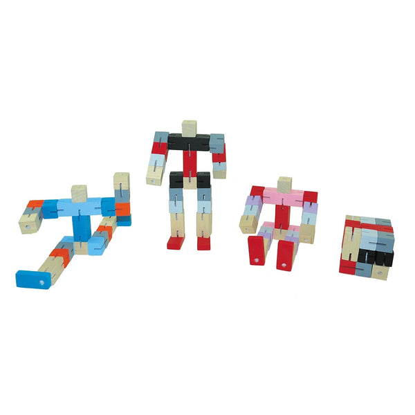 Twist and Lock Robot Blocks - Toyslink - Tiny Paper Co. Afterpay Toy Store Australia