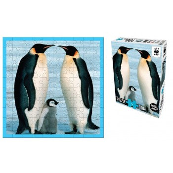 WWF Penguin Puzzle 100pc - WWF - Tiny Paper Co. Afterpay Toy Store Australia