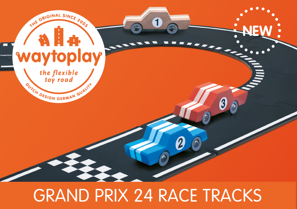 Way To Play - Grand Prix 24 pc Set - Way To Play - Tiny Paper Co. Afterpay Toy Store Australia