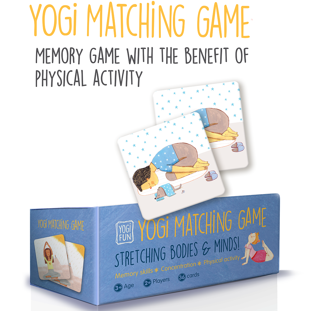 Memory Game - Yogi Fun - Yogi Fun - Tiny Paper Co. Afterpay Toy Store Australia