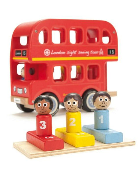 Bernie's Number Bus-Toys-Indigo Jamm-Tiny Paper Co-Afterpay-Australia-Toy-Store - Indigo Jamm - Tiny Paper Co. Afterpay Toy Store Australia