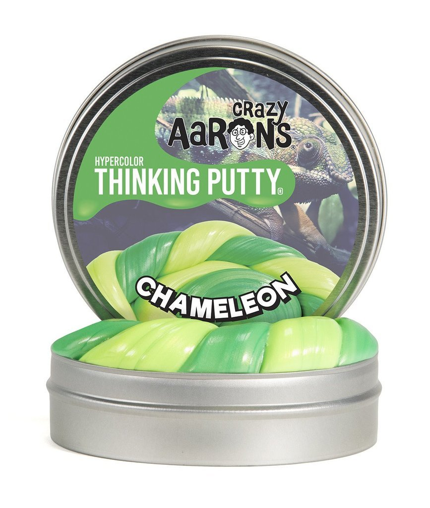 Chameleon Heat Sensitive Thinking Putty Small 2 Inch Tin-Toys-Crazy Aaron's-Tiny Paper Co-Afterpay-Australia-Toy-Store - Crazy Aaron's - Tiny Paper Co. Afterpay Toy Store Australia