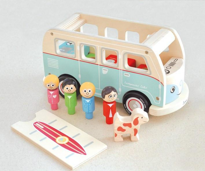 Colin's Camper Van-Toys-Indigo Jamm-Tiny Paper Co-Afterpay-Australia-Toy-Store - Indigo Jamm - Tiny Paper Co. Afterpay Toy Store Australia