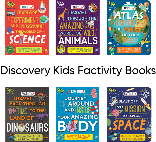 Discovery Kids Factivity Books-Books-Discovery Kids-Tiny Paper Co-Afterpay-Australia-Toy-Store - Discovery Kids - Tiny Paper Co. Afterpay Toy Store Australia