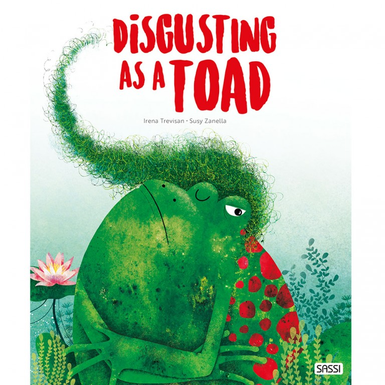 Disgusting As A Toad Book - Sassi Junior - Tiny Paper Co. Afterpay Toy Store Australia