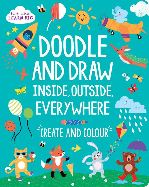Doodle Books - Multiple Titles-Books-Start Little Learn Big-Tiny Paper Co-Afterpay-Australia-Toy-Store - Start Little Learn Big - Tiny Paper Co. Afterpay Toy Store Australia
