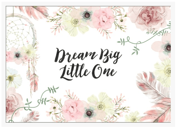 Dream Big Little One-Decor-Ginger Monkey-Tiny Paper Co-Afterpay-Australia-Toy-Store - Ginger Monkey - Tiny Paper Co. Afterpay Toy Store Australia