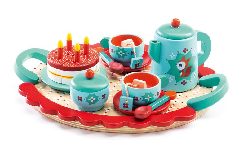 Fox Tea Party Set-Toys-Djeco-Tiny Paper Co-Afterpay-Australia-Toy-Store - Djeco - Tiny Paper Co. Afterpay Toy Store Australia