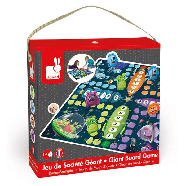 Giant Ludo Space Game-Games-Janod-Tiny Paper Co-Afterpay-Australia-Toy-Store - Janod - Tiny Paper Co. Afterpay Toy Store Australia