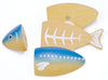 Grilled Fish Set-Toys-Woody Puddy-Tiny Paper Co-Afterpay-Australia-Toy-Store - Woody Puddy - Tiny Paper Co. Afterpay Toy Store Australia