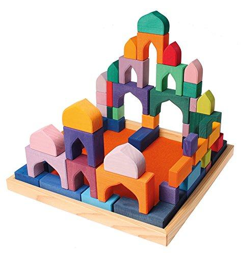Grimm's Building Set 1001 Nights-Toys-Grimms-Tiny Paper Co-Afterpay-Australia-Toy-Store - Grimms - Tiny Paper Co. Afterpay Toy Store Australia