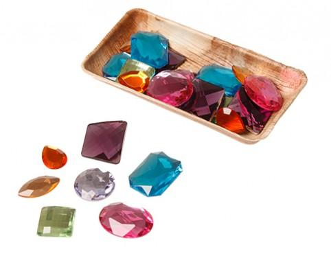 Grimm's Giant Acrylic Glitter Stones-Toys-Grimms-Tiny Paper Co-Afterpay-Australia-Toy-Store - Grimms - Tiny Paper Co. Afterpay Toy Store Australia