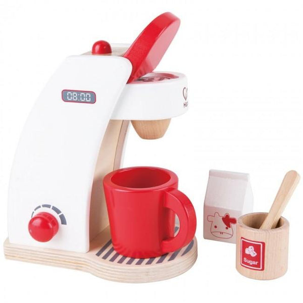 Hape Coffee Maker-Toys-Hape-Tiny Paper Co-Afterpay-Australia-Toy-Store - Hape - Tiny Paper Co. Afterpay Toy Store Australia
