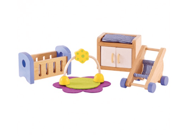 Hape Dollhouse Baby's Modern Bedroom-Toys-Hape-Tiny Paper Co-Afterpay-Australia-Toy-Store - Hape - Tiny Paper Co. Afterpay Toy Store Australia