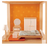 Hape Dollhouse Master Bedroom-Toys-Hape-Tiny Paper Co-Afterpay-Australia-Toy-Store - Hape - Tiny Paper Co. Afterpay Toy Store Australia