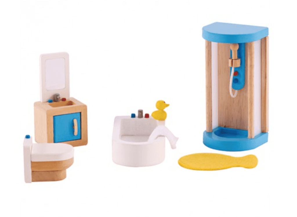 Hape Dollhouse Modern Bathroom-Toys-Hape-Tiny Paper Co-Afterpay-Australia-Toy-Store - Hape - Tiny Paper Co. Afterpay Toy Store Australia