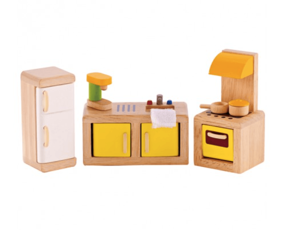 Hape Dollhouse Modern Kitchen-Toys-Hape-Tiny Paper Co-Afterpay-Australia-Toy-Store - Hape - Tiny Paper Co. Afterpay Toy Store Australia