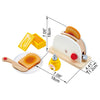 Hape Pop-up Toaster Set-Toys-Hape-Tiny Paper Co-Afterpay-Australia-Toy-Store - Hape - Tiny Paper Co. Afterpay Toy Store Australia