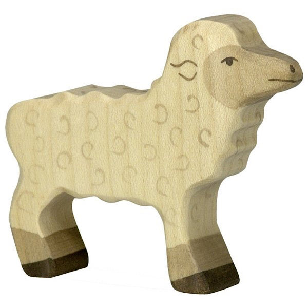 Holztiger Lamb Standing - Holztiger - Tiny Paper Co. Afterpay Toy Store Australia