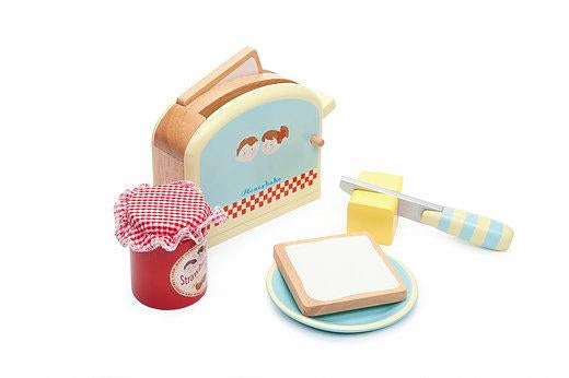 Honeybake Toaster Set-Toys-Tiny Paper Co.-Tiny Paper Co-Afterpay-Australia-Toy-Store - Tiny Paper Co. - Tiny Paper Co. Afterpay Toy Store Australia