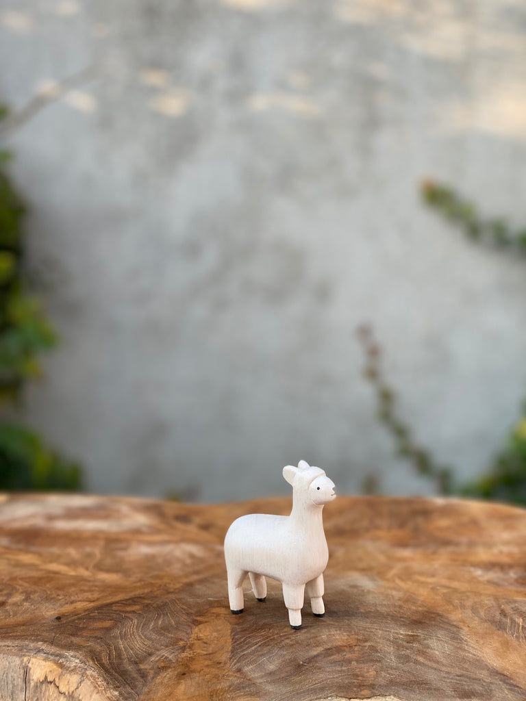 Hand Carved Animals - Tiny Paper Co. - Tiny Paper Co. Afterpay Toy Store Australia