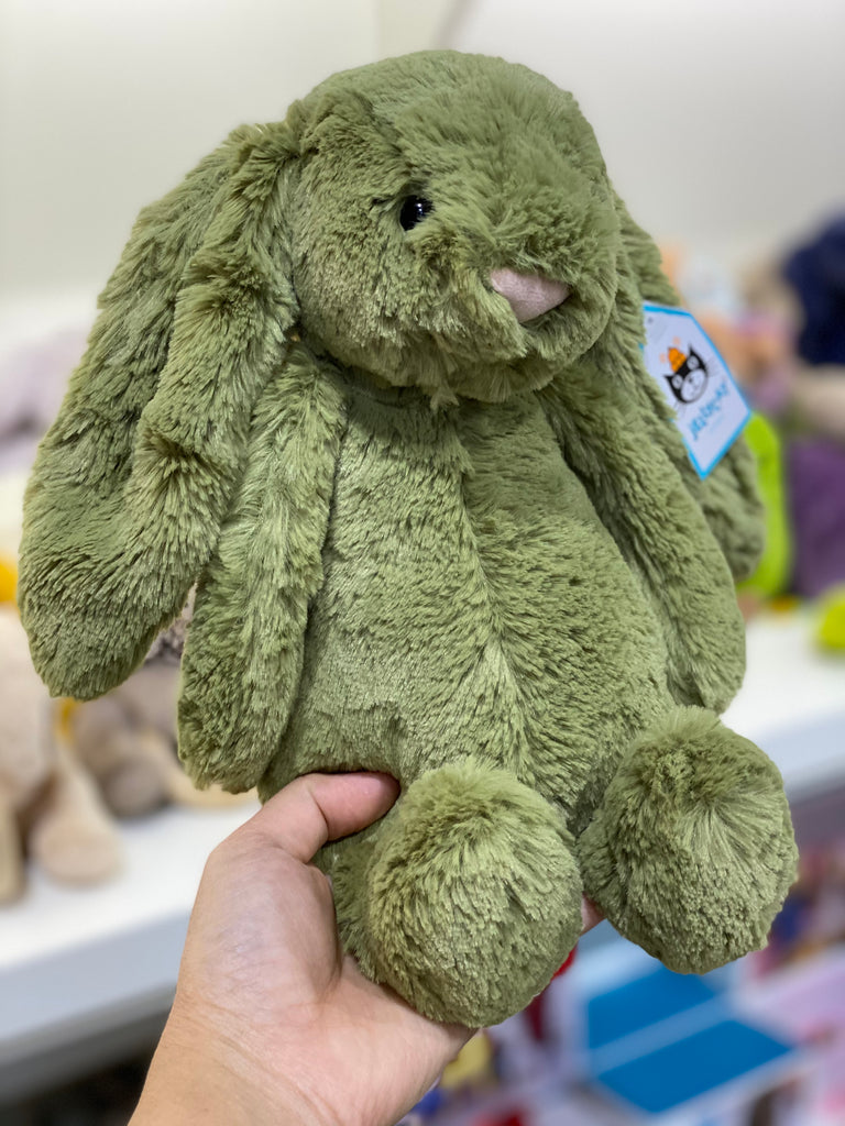 Bashful Fern Bunny Medium - Jellycat - Tiny Paper Co. Afterpay Toy Store Australia