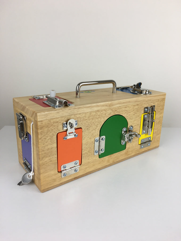 Lock Box By Mamagenius - Mama Genius - Tiny Paper Co. Afterpay Toy Store Australia