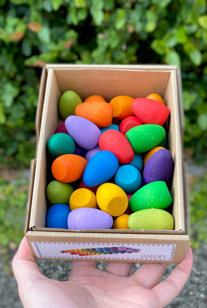Grapat Mandala Rainbow Eggs - Grapat - Tiny Paper Co. Afterpay Toy Store Australia