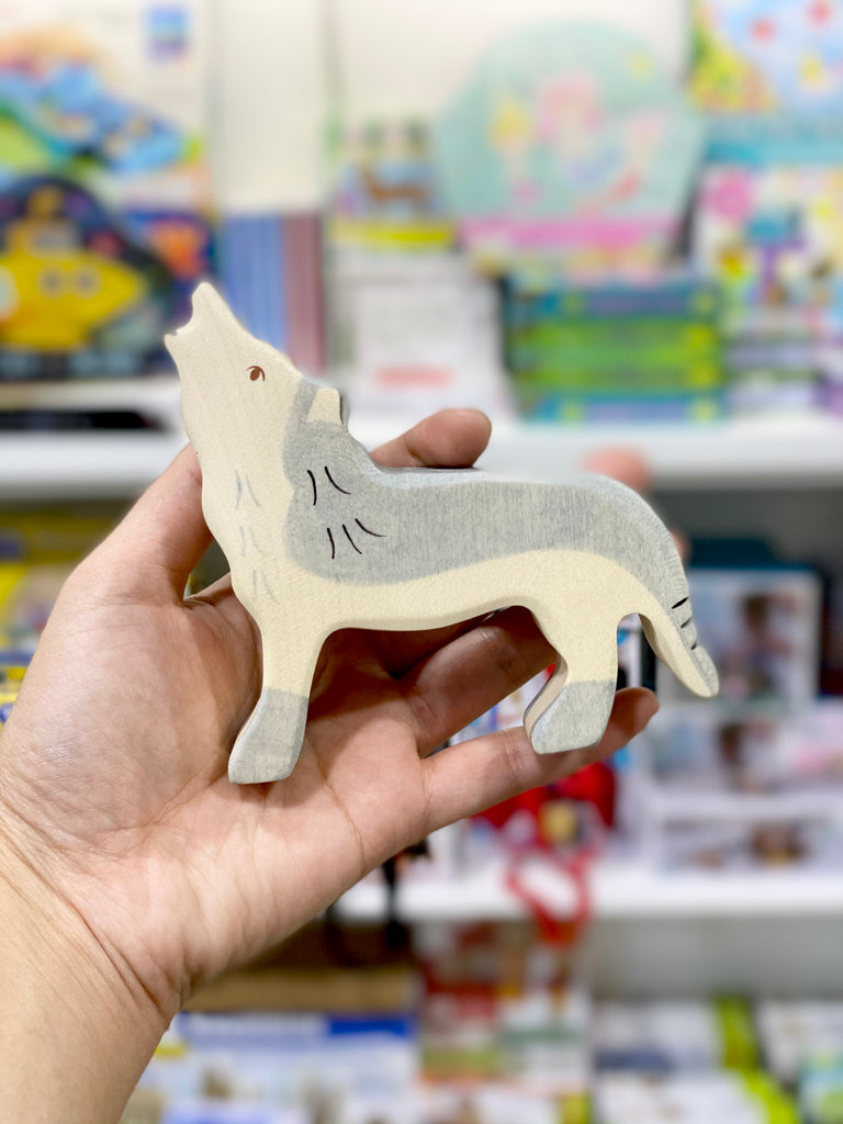 Holztiger Wolf - Tiny Paper Co. - Tiny Paper Co. Afterpay Toy Store Australia