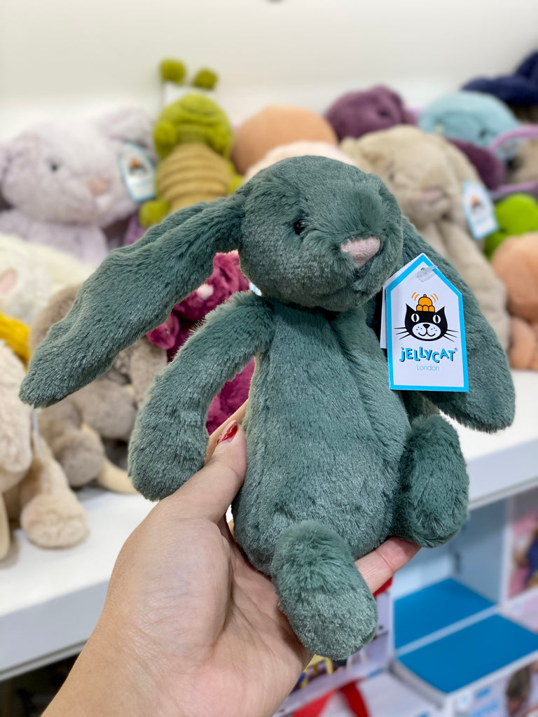 Bashful Forest Bunny Small - Jellycat - Tiny Paper Co. Afterpay Toy Store Australia