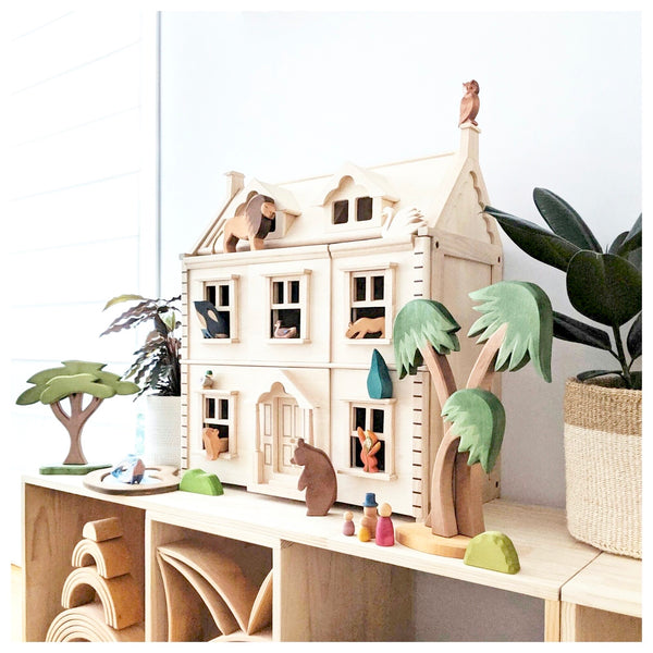 Victorian Dollhouse - Tiny Paper Co. - Tiny Paper Co. Afterpay Toy Store Australia