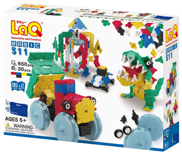 LaQ Basic 511-Construction-LaQ-Tiny Paper Co-Afterpay-Australia-Toy-Store - LaQ - Tiny Paper Co. Afterpay Toy Store Australia