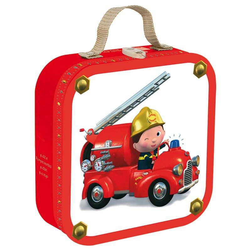 Leon and Truck 4 in 1 Puzzle-Puzzle-Janod-Tiny Paper Co-Afterpay-Australia-Toy-Store - Janod - Tiny Paper Co. Afterpay Toy Store Australia