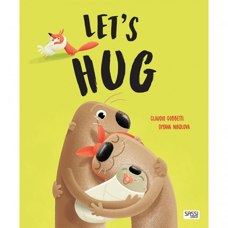 Let's Hug - Picture Book - Sassi Junior - Tiny Paper Co. Afterpay Toy Store Australia