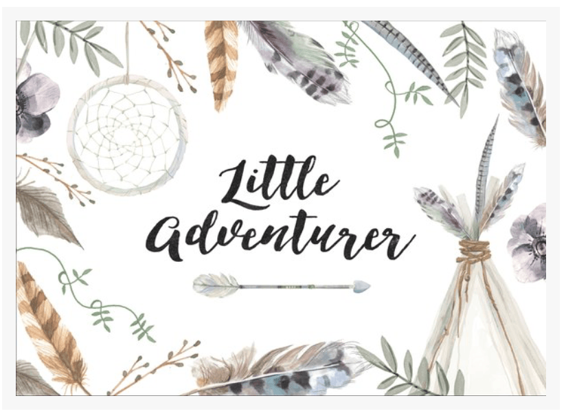 Little Adventurer-Decor-Ginger Monkey-Tiny Paper Co-Afterpay-Australia-Toy-Store - Ginger Monkey - Tiny Paper Co. Afterpay Toy Store Australia