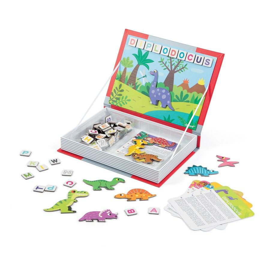 Magnetibook Dinosaurs-Toys-Janod-Tiny Paper Co-Afterpay-Australia-Toy-Store - Janod - Tiny Paper Co. Afterpay Toy Store Australia