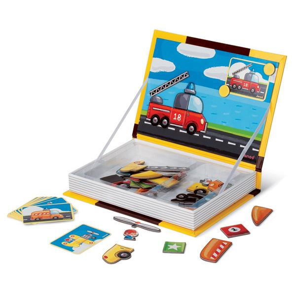 Magnetibook Vehicles - Janod-Toys-Janod-Tiny Paper Co-Afterpay-Australia-Toy-Store - Janod - Tiny Paper Co. Afterpay Toy Store Australia