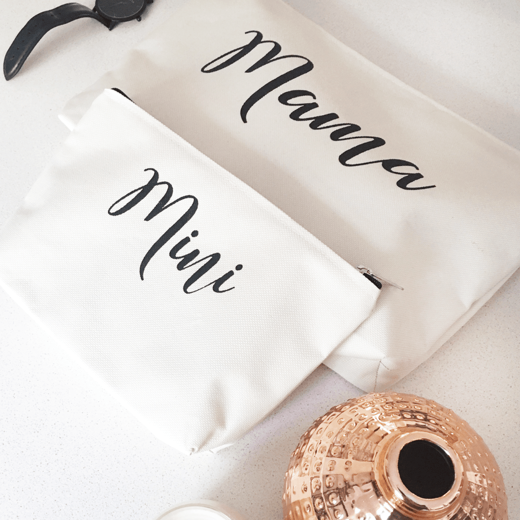 Mama and Mini Clutch Set-Decor-Tiny Paper Co.-Tiny Paper Co-Afterpay-Australia-Toy-Store - Tiny Paper Co. - Tiny Paper Co. Afterpay Toy Store Australia