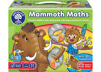 Mammoth Maths - Orchard Toys - Tiny Paper Co. Afterpay Toy Store Australia