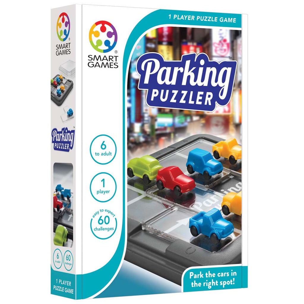 Parking Puzzler - Smart Games - Tiny Paper Co. Afterpay Toy Store Australia