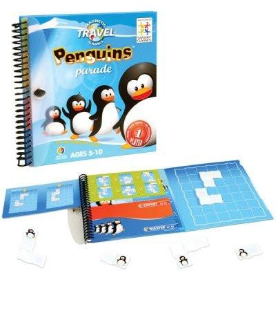 Penguins Parade-Puzzle-Smart Games-Tiny Paper Co-Afterpay-Australia-Toy-Store - Smart Games - Tiny Paper Co. Afterpay Toy Store Australia