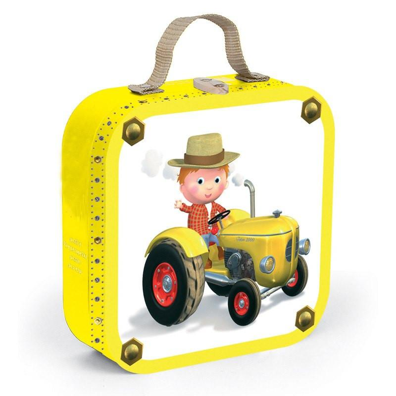 Peter's Tractor 4 in 1 Puzzle-Puzzle-Janod-Tiny Paper Co-Afterpay-Australia-Toy-Store - Janod - Tiny Paper Co. Afterpay Toy Store Australia