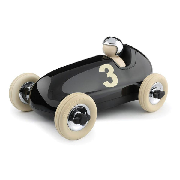 Playforever Bruno Racing Car Black-Toys-Playforever-Tiny Paper Co-Afterpay-Australia-Toy-Store - Playforever - Tiny Paper Co. Afterpay Toy Store Australia