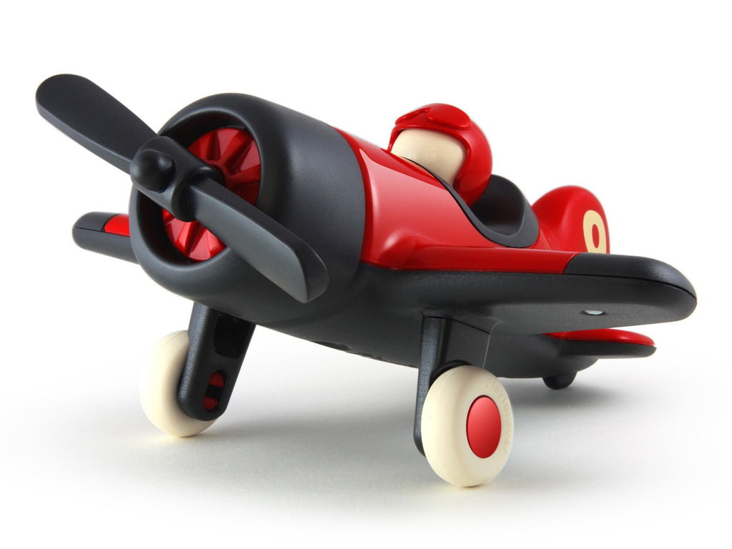 Playforever Mimmo Aeroplane Red-Toys-Playforever-Tiny Paper Co-Afterpay-Australia-Toy-Store - Playforever - Tiny Paper Co. Afterpay Toy Store Australia