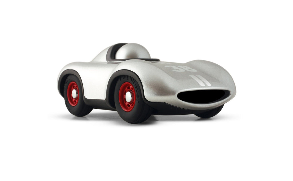 Playforever Mini 704 Speedy Le Mans Silver-Toys-Playforever-Tiny Paper Co-Afterpay-Australia-Toy-Store - Playforever - Tiny Paper Co. Afterpay Toy Store Australia
