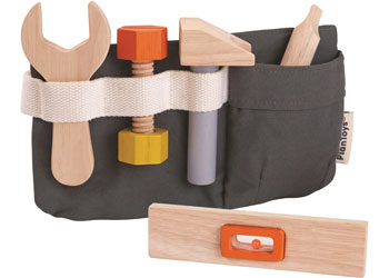 Tool Set - Plan Toys - Tiny Paper Co. Afterpay Toy Store Australia