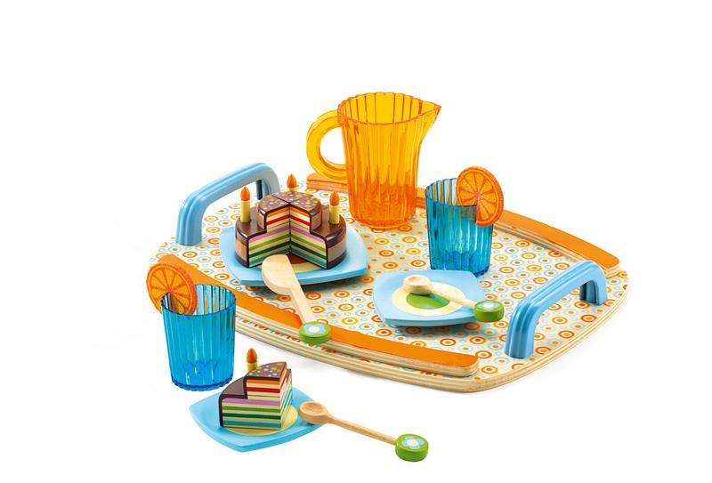 Retro Tea Party Set-Toys-Djeco-Tiny Paper Co-Afterpay-Australia-Toy-Store - Djeco - Tiny Paper Co. Afterpay Toy Store Australia